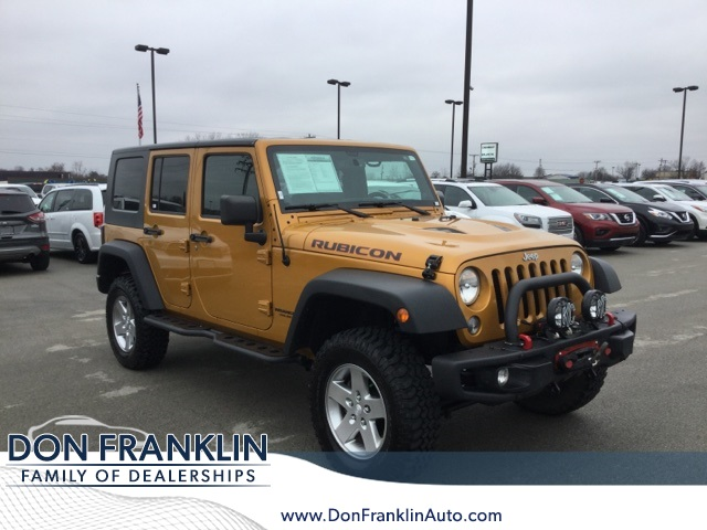 2014 Jeep Wrangler Rubicon >> Pre Owned 2014 Jeep Wrangler Unlimited Rubicon 4d Sport Utility In