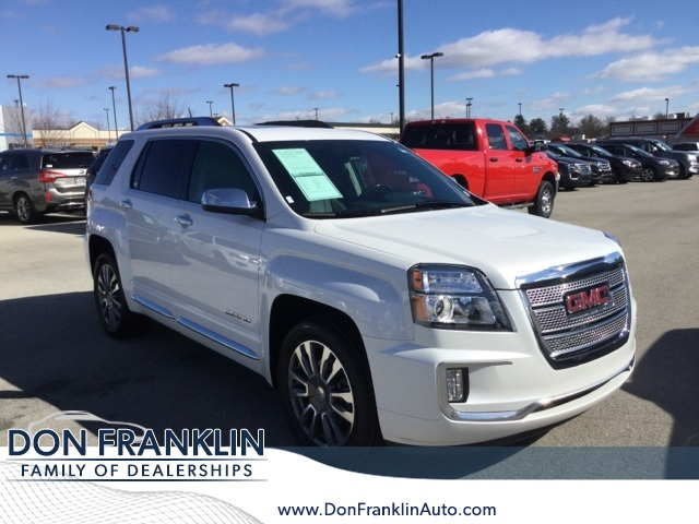 Gmc Terrain Denali >> Pre Owned 2017 Gmc Terrain Denali 4d Sport Utility In Lexington
